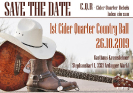 1st Cider Quarter Country Ball